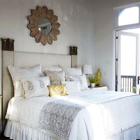 sunburst mirror bedroom wood sunburst mirror cottage bedroom bhg