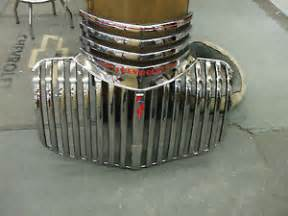 1941 46 chevy truck grille orig newly plated in usa