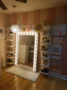 Vanity Mirror With Lights And Storage Makeup Storage With Diy Style Glam Light My