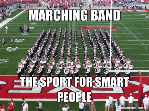 Funny Marching Band Memes - chssnare funny percussion meme time