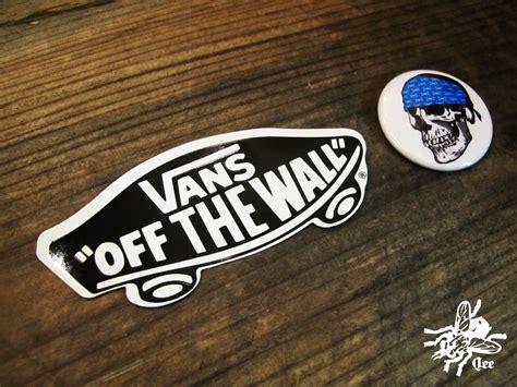 vans the wall sticker qee vans quot the wall quot sticker