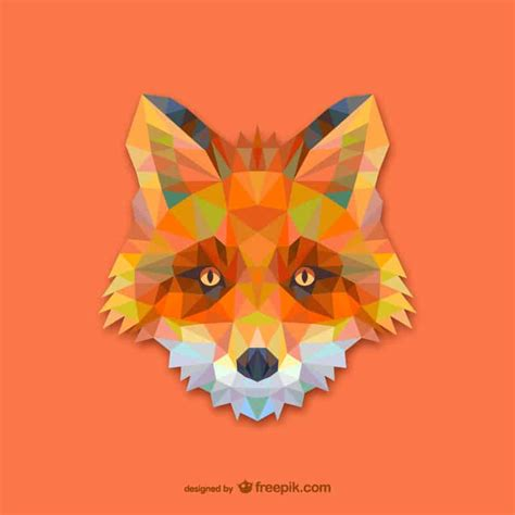 vector geometric animals  vector pack design crawl