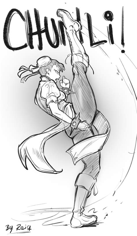 sketchbook reiq chun li kicks by reiq on deviantart