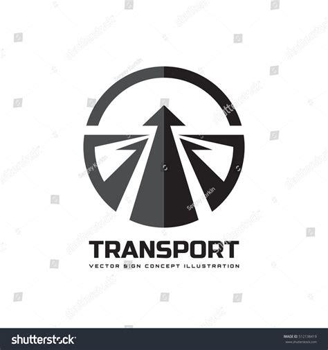 Transport Vector Logo Template Concept Illustration Stock Vector 512138419 Shutterstock Transport Logo Templates