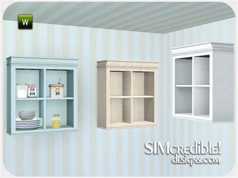 Kitchen Cabinet Without Doors Simcredible S Coastal Kitchen Cabinet Without Doors