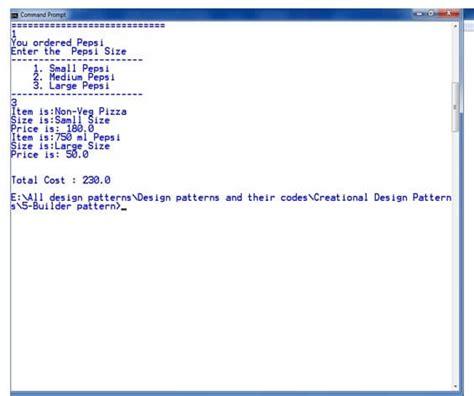 object pool pattern java exle builder design pattern javatpoint