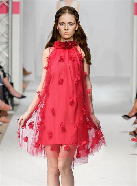 24440 Redwhiteyellow Roses Slim Dress day dress bqueen three dimensional flowers mesh