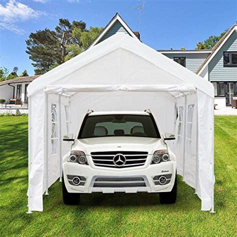 peaktop  heavy duty portable carport garage car