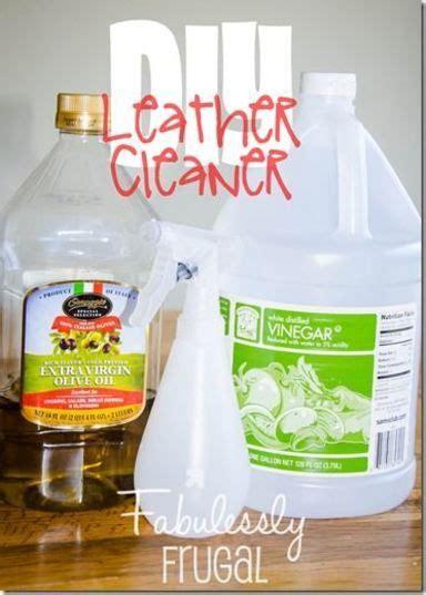 diy  ingredient leather cleaner  conditioner recipe