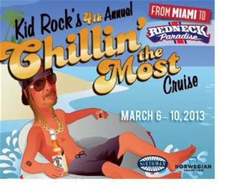 kid rock lineup kid rock reveals music lineup for his sold out chillin