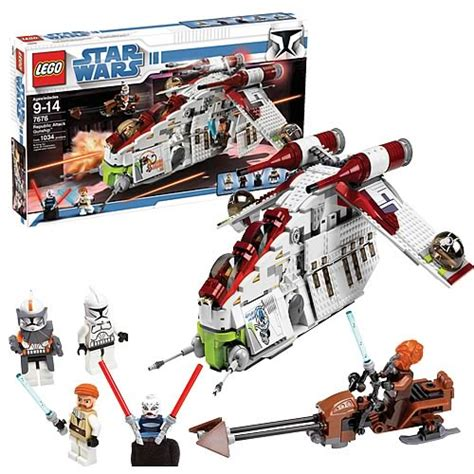 LEGO 7676 Star Wars Republic Gunship   Lego   Star Wars