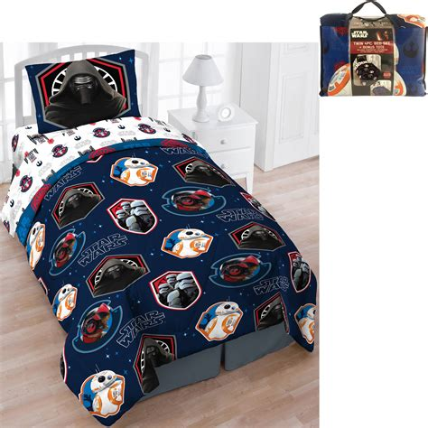 starwars bedding original star wars 5 pc twin bed bedding reversible