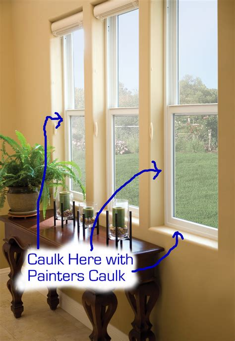 caulking interior windows how to caulk windows and where to caulk windows