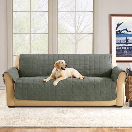 fit ultimate waterproof quilted pet sofa cover walmartcom
