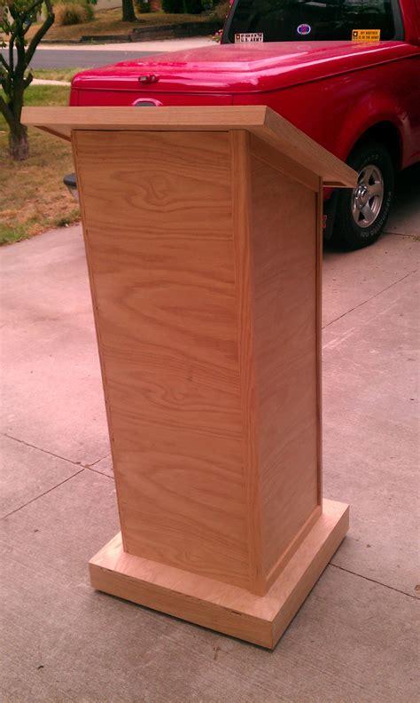 top added  church lectern  built madera trabajo de
