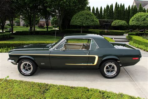 vintage mustang forums is this car color 1968 highland green poly