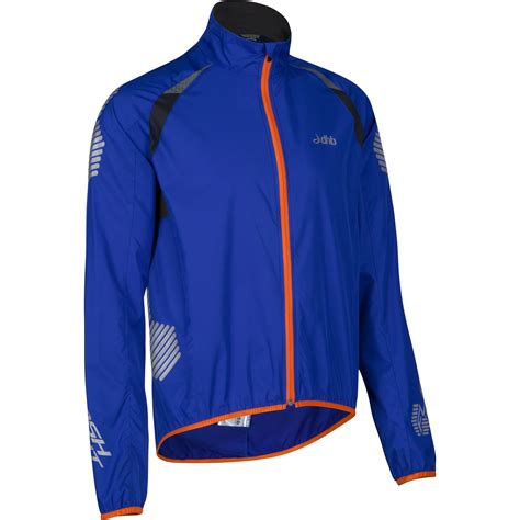 blue cycling jacket wiggle dhb flashlight windproof xt cycling jacket