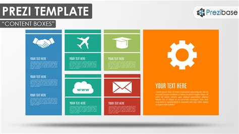 how to make a prezi template content boxes prezi template prezibase