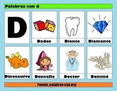 objetos con la letra d apexwallpapers com palabras con m alfabeto abecedario pinterest