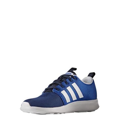 adidas men adidas men s cloudfoam swift racer shoes blue