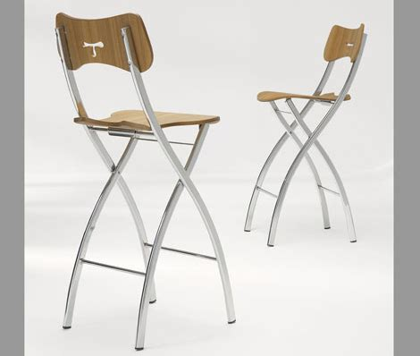 Folding Bar Stool With Back by Folding Bar Stool With Back Home Bar Design