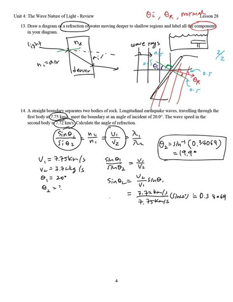 Lesson 28 Unit 4 Review Love Science Amp Math