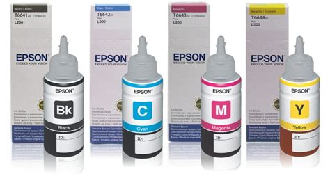 Tinta Printer Epson L110 Jual Tinta Printer Epson Lseries L100 L110 L200 L210 L300