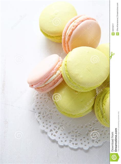 Sweet Macaroon Pink sweet green and pink macaroon stock photo image 59310217