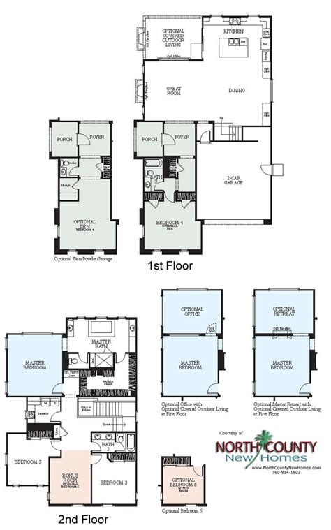 new homes floor plans westerly at rancho tesoro new home floor plans north
