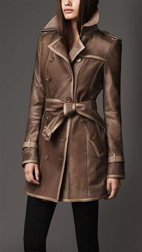 coat hair style photos short calf hair trench coat burberry style that