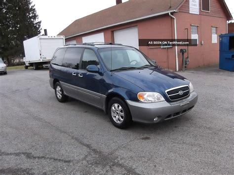 Kia Minivan 2004 2004 Kia Sedona Ex Mini Passenger 5 Door 3 5l