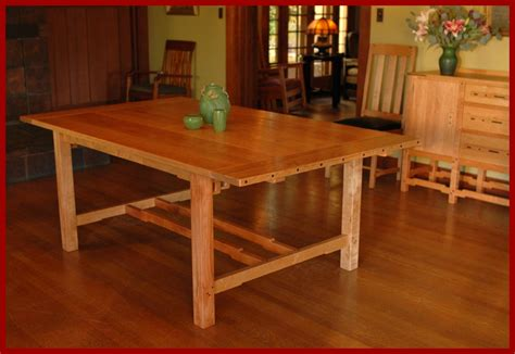 mission style cherry dining furniture craftsman dining voorhees craftsman mission oak furniture item