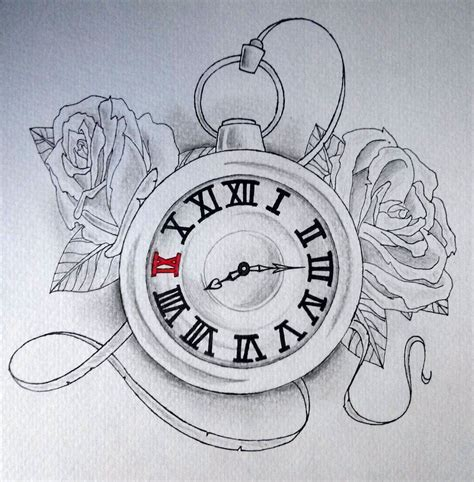 old clock tattoo designs clock drawing search drawings