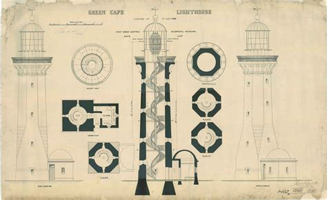 Free Floor Plan Creator by File Green Cape Lighthouse Plans 1885 Jpg Wikimedia