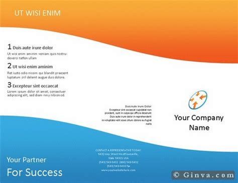 Free Microsoft Office Flyer Templates Download Free Microsoft Office Brochure Templates Ginva