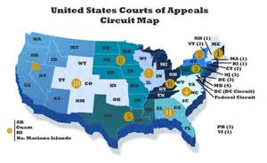 map us circuit courts of appeal nela org nela judicial nominations program