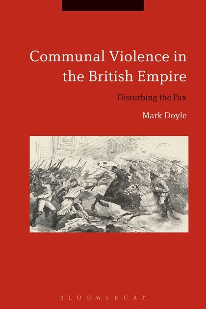 communal violence in the empire disturbing the