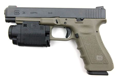 glock 17 laser light defense electronics and optics ipsc pistole jagdwaffe