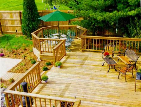 home  garden design   deck design composite