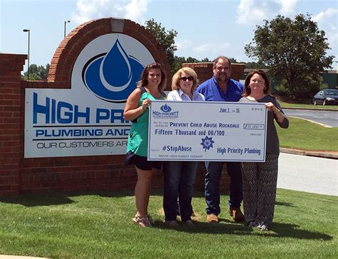 High Priority Plumbing by High Priority Plumbing Sponsors Fundraising Event For