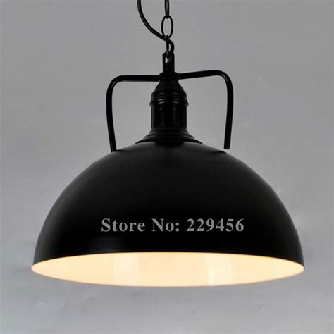 Country Style Lighting Fixtures Aliexpress Buy Country Style Pendant Light Black White Color Industrial Loft Fixtures