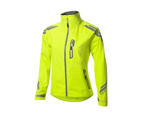 cycling coat altura womens night vision evo waterproof cycling jacket
