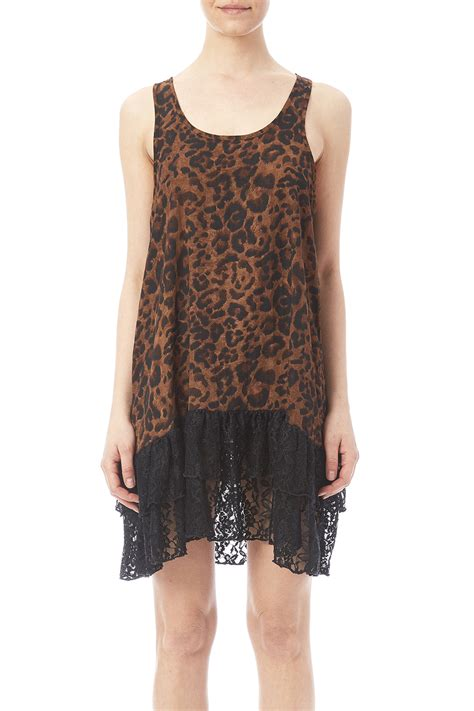 Bottom Lace by Turquoise Leopard Lace Bottom Tunic From Dallas By