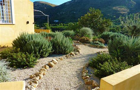 backyard landscaping mediterranean garden design for rural garden in sicily