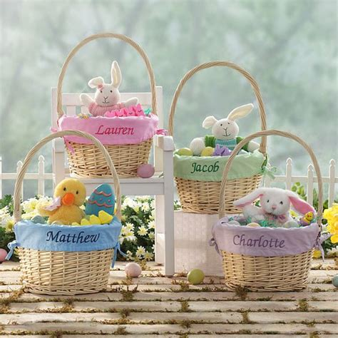 unique easter basket ideas for personalized easter baskets ideas time for and easter