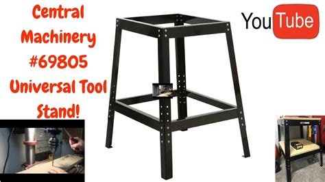 universal saw stand harbor freight 69805 universal tool stand youtube