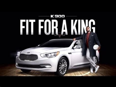 Car Commercials by Lebron 2015 Kia K900 Luxury Car Commercial Nba