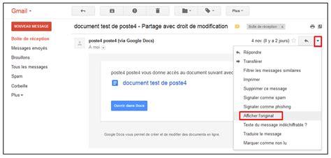 format email bouygues enregistrer un mail gmail astucesinformatique