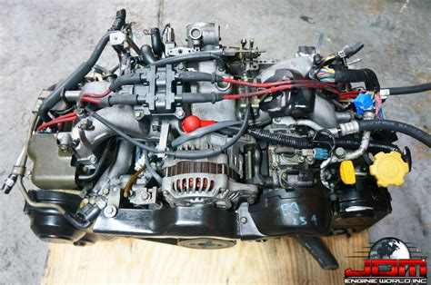 how does a cars engine work 1989 subaru justy engine control jdm 98 02 ej25de dohc engine only jdm engine world