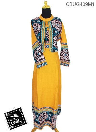 Baju Gamis Cardigan Dengan Rompi Songket Motif Etnik Warna Pink 8 baju batik gamis motif songket gamis batik murah